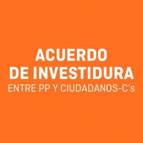 Acuerdo de Gobernabilidad entre PP y Ciudadanos - C's Ayuntamiento de Tres Cantos